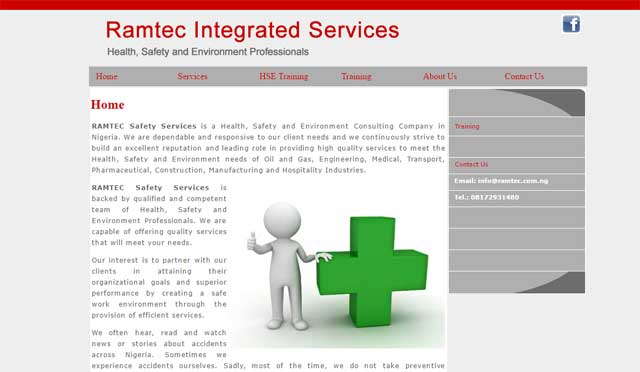 Ramtec Integrated Services with digital technology support by Caseray Solutions Limited
