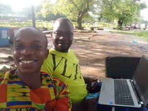 Blog design training at the Unilag Lagoon Front Lagos