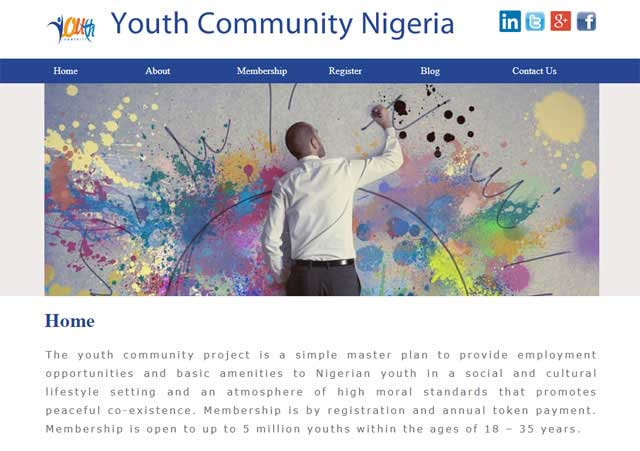 Youth Community Nigeria Project