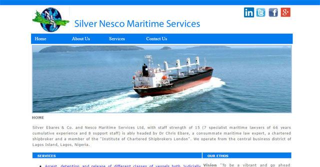 Silver Nesco Maritime Services Limited Screenshot